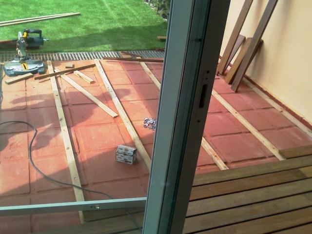 Cubrir terraza con madera ipe - Cubrir terraza barato ...
