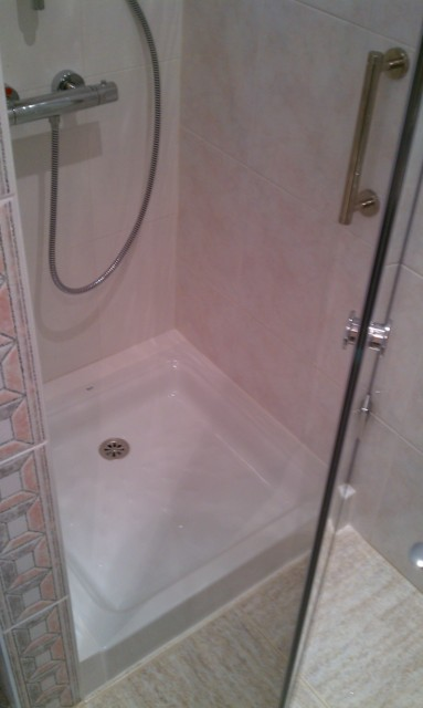 Quitar bidet por plato de ducha for Impermeabilizar plato ducha